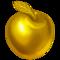 maçã dourada